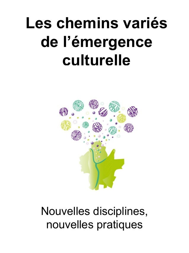 Les chemins variés de l'émergence culturelle Nouvelles disciplines, nouvelles pratiques