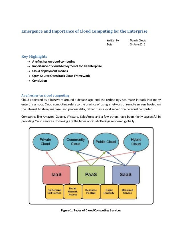 the importance of enterprise wide computing International journal of enterprise computing and business systems usiness systems issn (online) : 2230issn (online) : 2230- ---884988498849 vol 1 issue 2 july 2011 competitive advantage through information and communication realize the importance of supply.