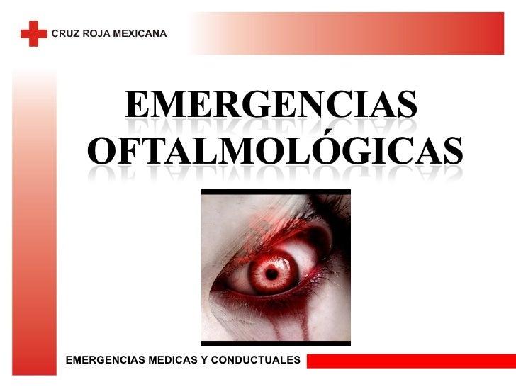 EMERGENCIAS MEDICAS Y CONDUCTUALES