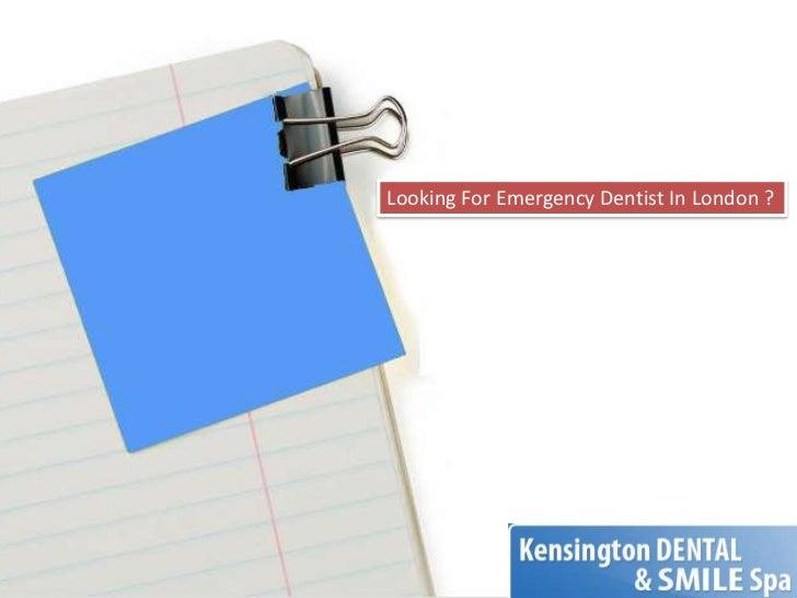 Looking For Emergency Dentist In London ?<br />