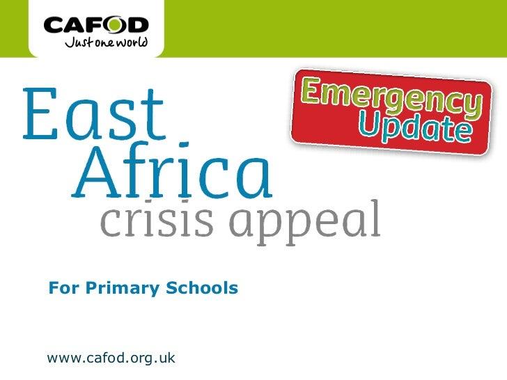 East Africa Emergency presentation