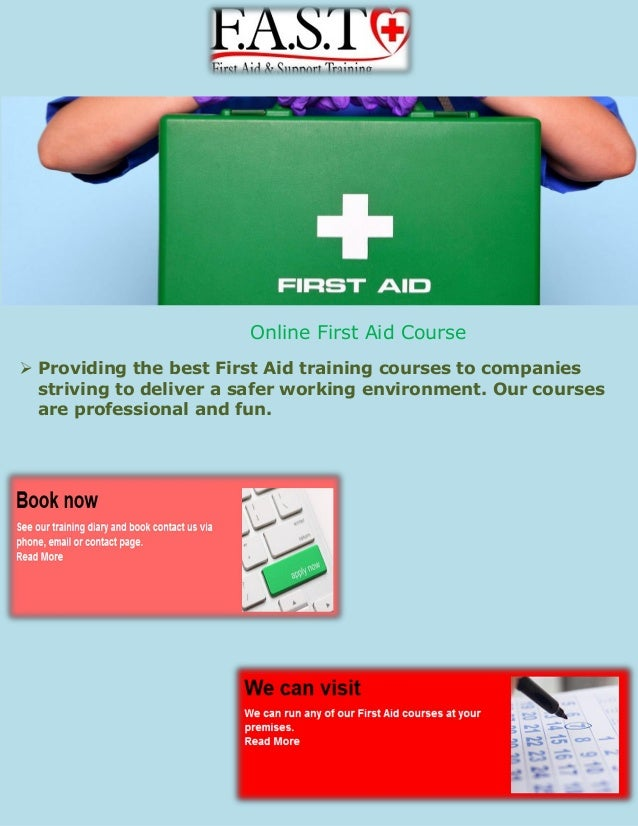 First aid training for teachers ppt