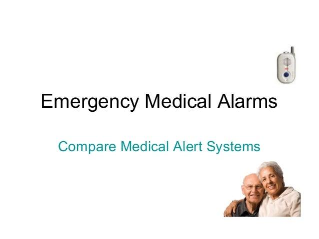 Emergency medical alarms