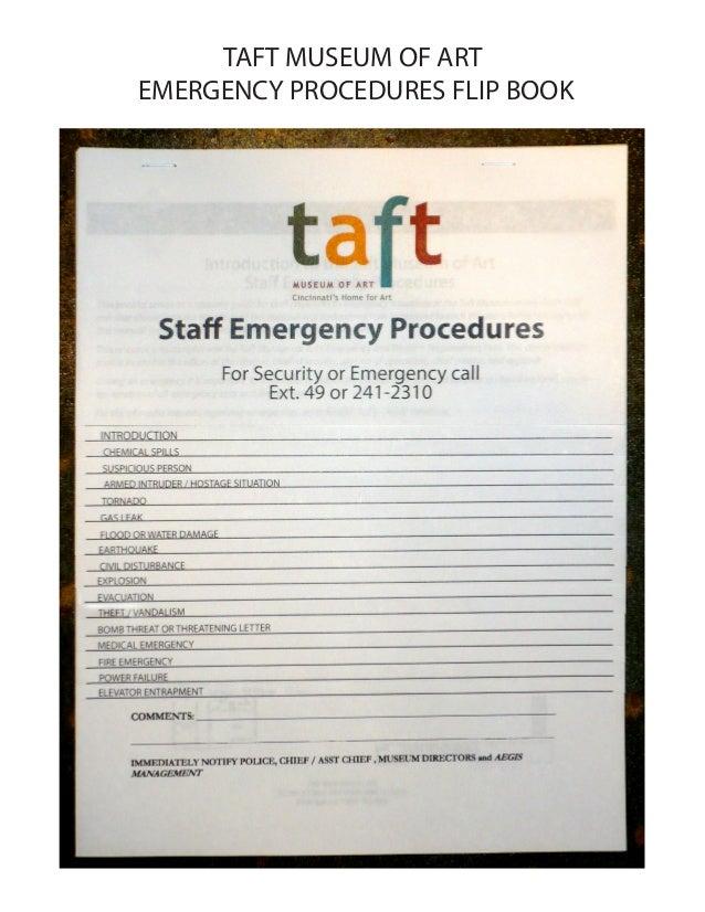 Emergency Procedures Flip Book