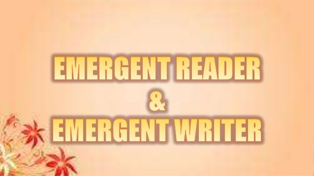 Emergent Reader and Writer