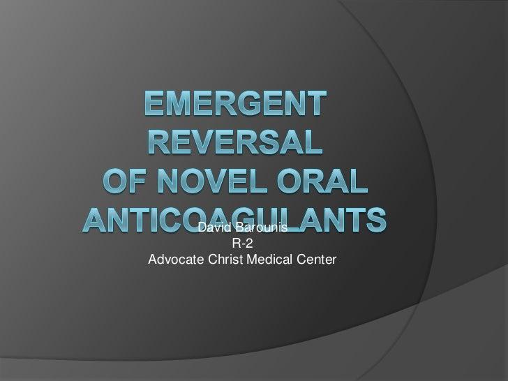 Emergent reversal