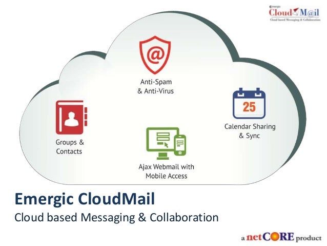 Emergic CloudMail Cloud based Messaging & Collaboration