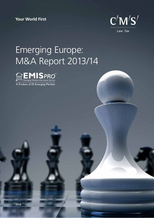 CMS_LawTax_Negative_from101.eps Emerging Europe: M&A Report 2013/14 2014