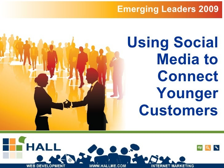 Using Social Media to Connect Younger Customers