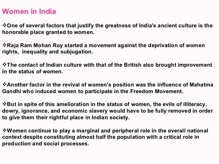 Women In Society Essay