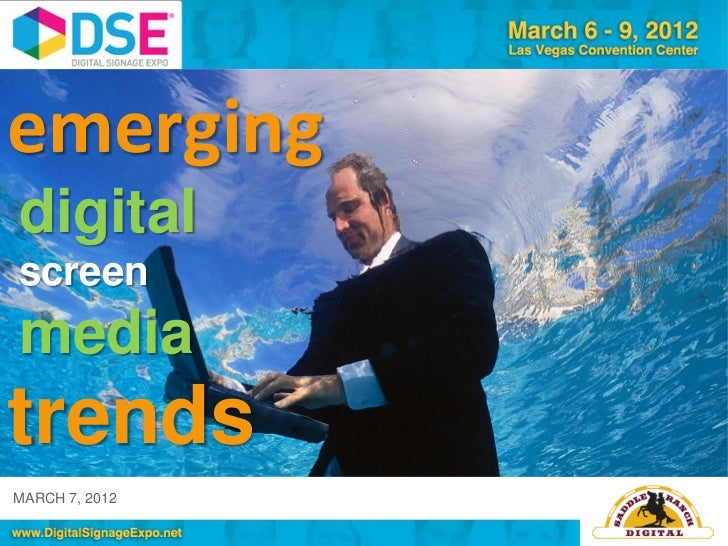 Emerging Digital Screen Media Trends