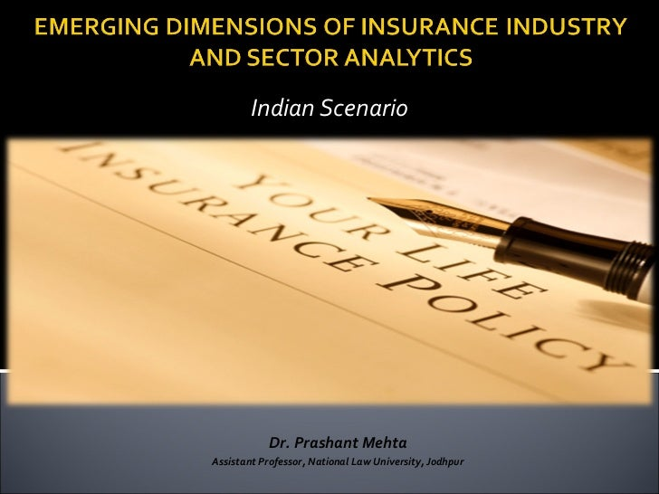 Emerging dimensions of insurance sector  and analytics