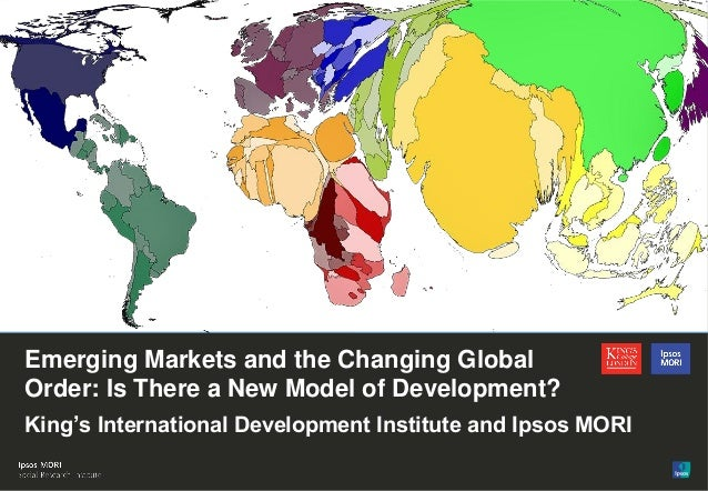 Emerging Markets and the Changing Global Order: Is there a new model of development?