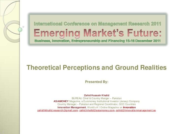 Emerging Market'S Future