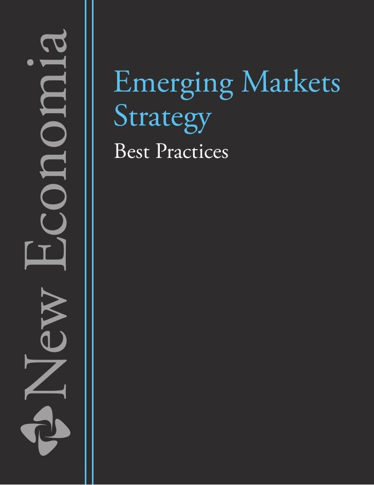 New Economia   Emerging Markets               Strategy               Best Practices