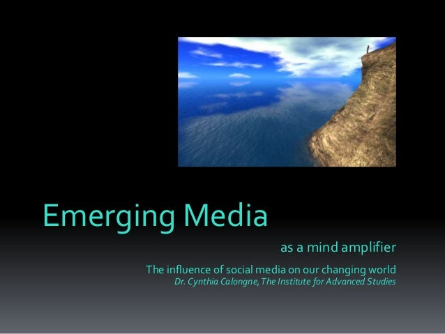Emerging Media as a Mind Amplifier