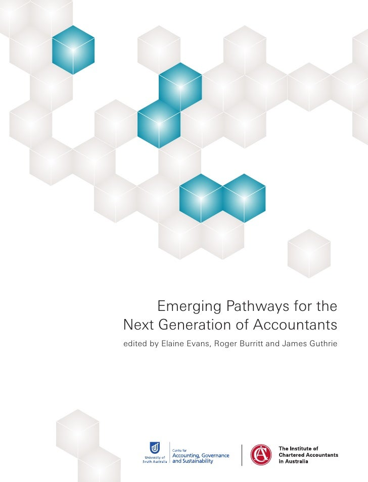 Emerging pathways for the next generation of accountants