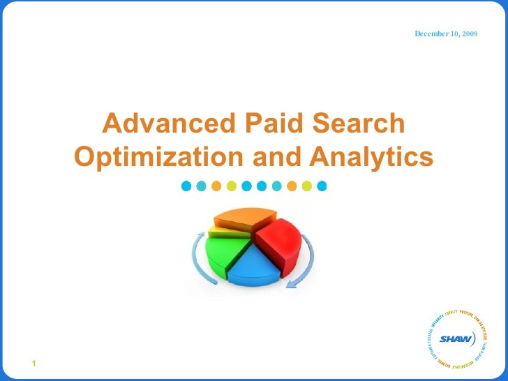 Advanced Paid Search Optimization and Analytics