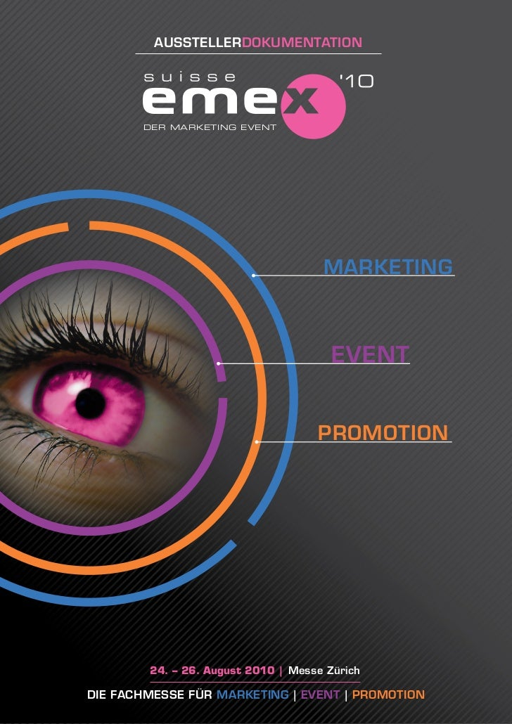 aussTellerDokuMenTaTion            DER MARKETING EVENT                                          MarkeTing                 ...