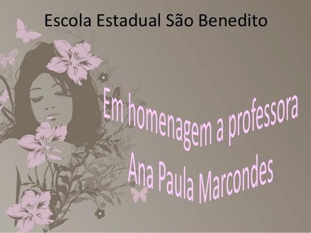 Escola Estadual São Benedito