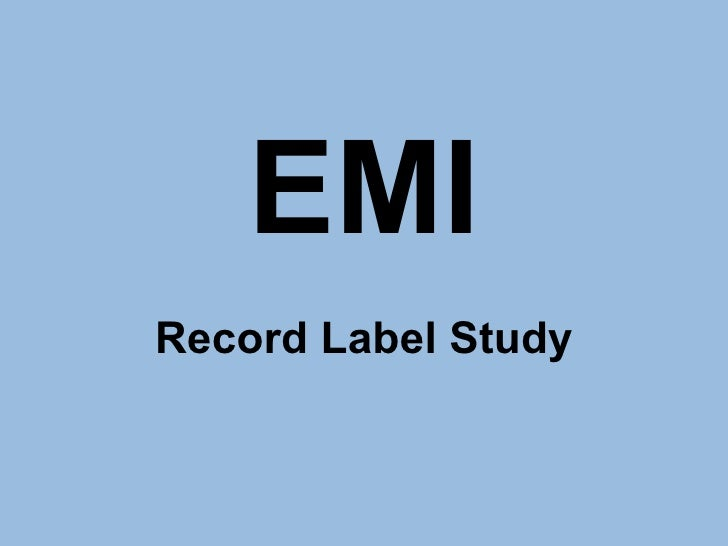 emi group plc dividend case Search results for 'case 27 emi group plc' case 27 emi group plc teaching note synopsis this case examines the april 2007 decision of british music company emi to suspend its annual dividend as the company.
