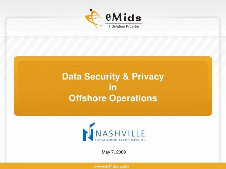 Emids Morning Security Virtual India V3