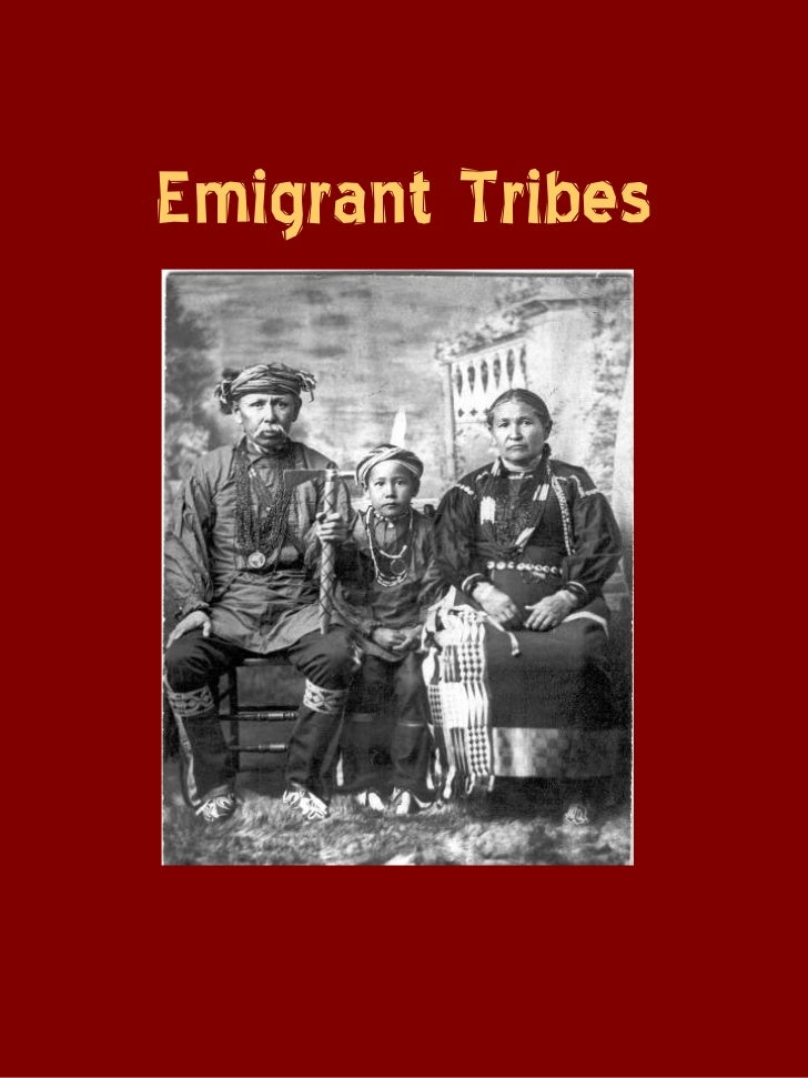 Emigrant indians in Franklin County