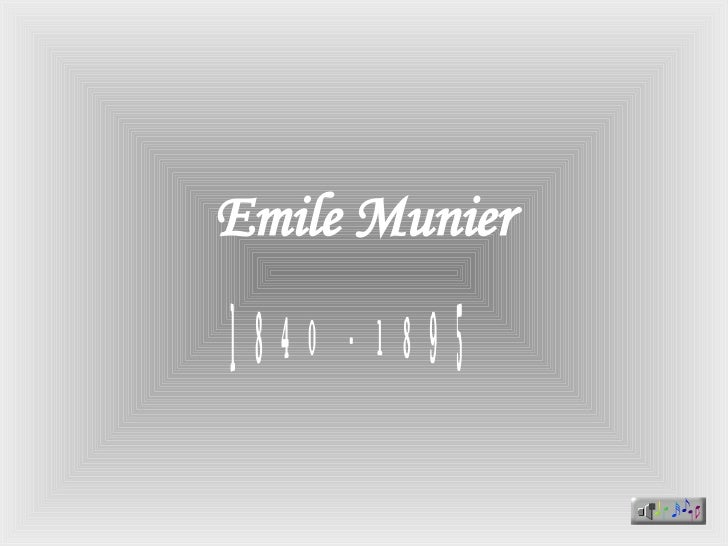 Emile Munier M