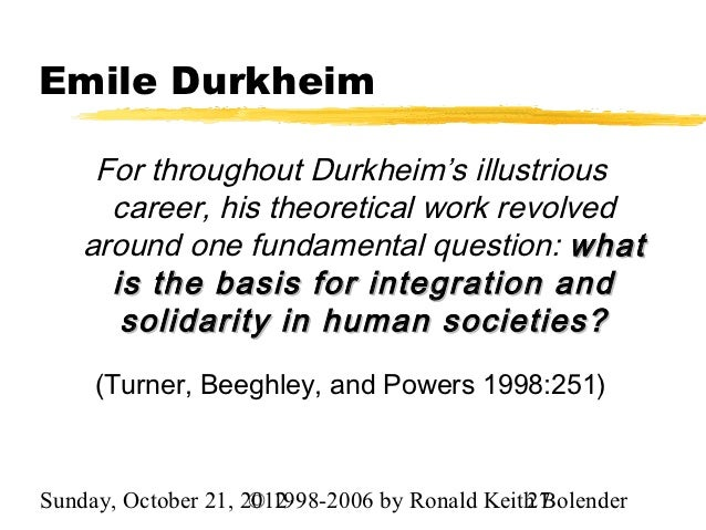 the essence of suicide by emile durkheim essay Emile durkheim: an introduction to for durkheim, was the essence of religious society suggested to durkheim that suicide was a normal element in the.