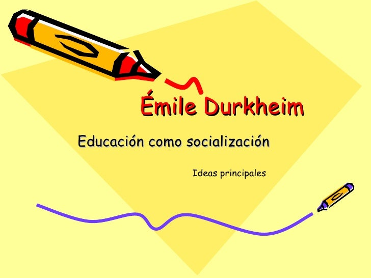 Emile durkheim power point