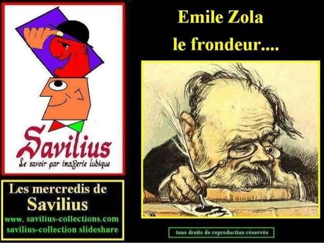 Emile Zola le frondeur