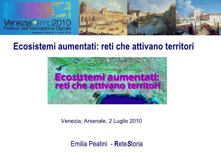 Emilia peatini   venezia camp 2010 - presentazione 2luglio2010 b