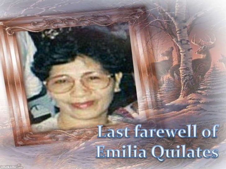 Emilia L. Quilates's Last Farewell at  Holy Gardens Pangasinan Memorial Park