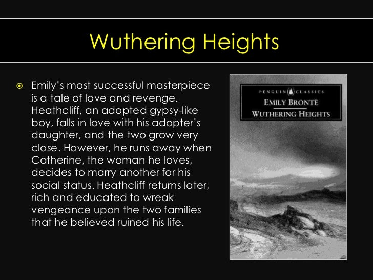 the change or die theme of wuthering heights by emily bronte In 'wuthering heights' by emily bronte, the characters face death often, which   how does the death of a parent change a child's perspective on life  in  addition, catherine's sister-in-law, frances, dies in childbirth and edgar's parents , mr and mrs linton, die from an illness  wuthering heights literary analysis .