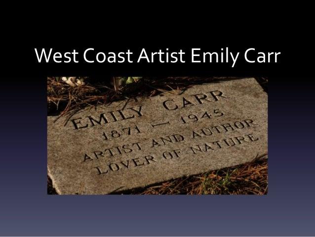West Coast Artist Emily Carr