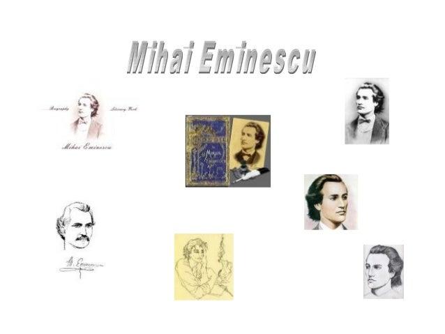Biografie •  •  • •  CRONOLOGIE 1850 Se naste în orasul Botosani Mihail, al saptelea copil din cei unsprezece ai lui Gheor...
