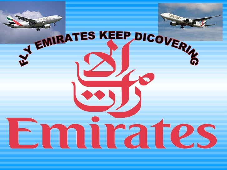 FLY EMIRATES KEEP DICOVERING