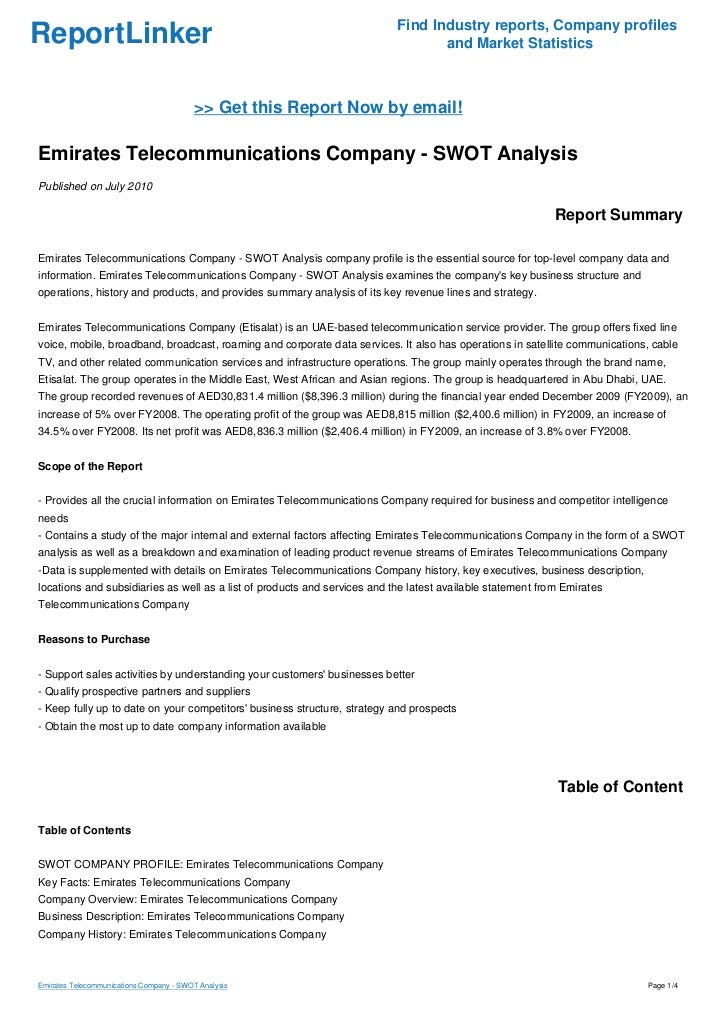 an analysis of the industry report in telecommunications technology Each trend has its own applications within its own market  a smartphone app  and various other types of technology in the store had eliminated the usual.