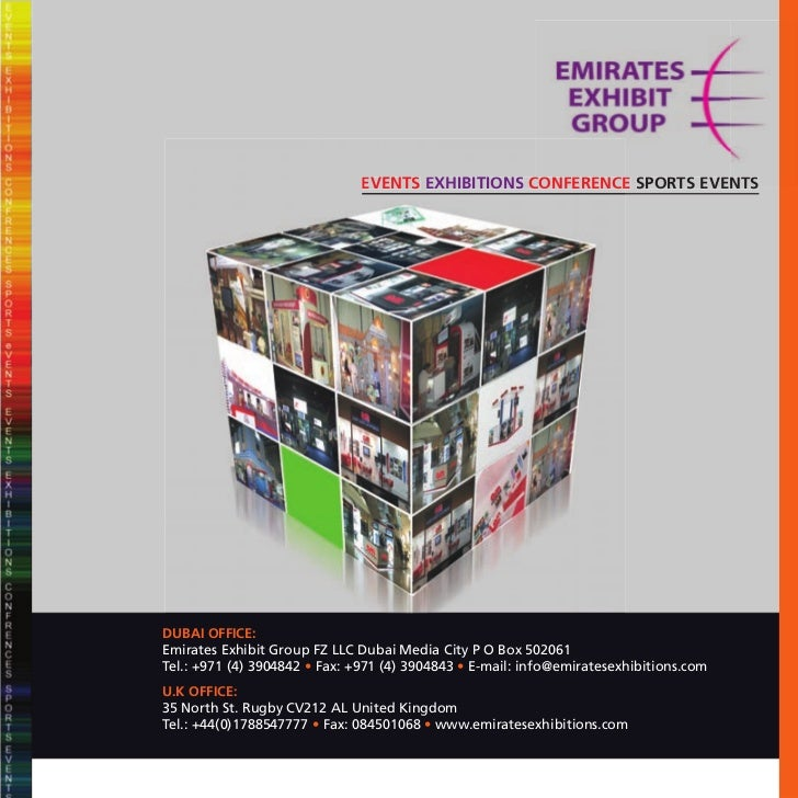 EVENTS EXHIBITIONS CONFERENCE SPORTS EVENTS                                                          EDUBAI OFFICE:Emirate...