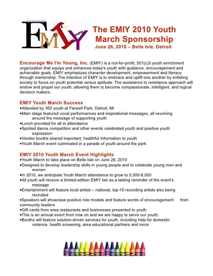 Emiy 2010 Youth March