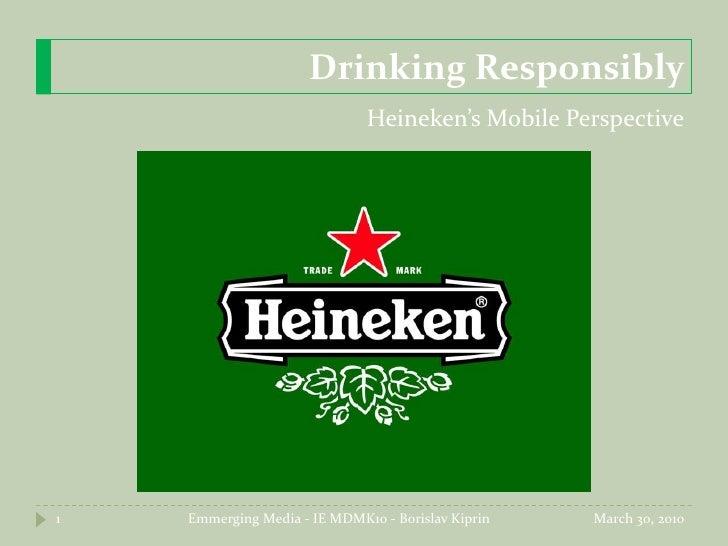 Heineken USA Mobile strategy RFP