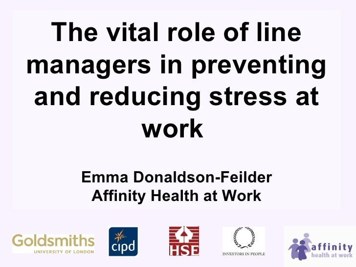 line managers role Line managers have a very important role to play, not only in the day-to-day management of people and operations but also in the implementation of hr policies, particularly in organisations where there's a devolution of hr activities towards line management.