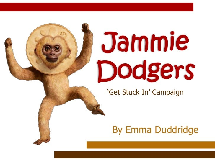 Jammie Dodgers<br />'Get Stuck In' Campaign<br />By Emma Duddridge<br />