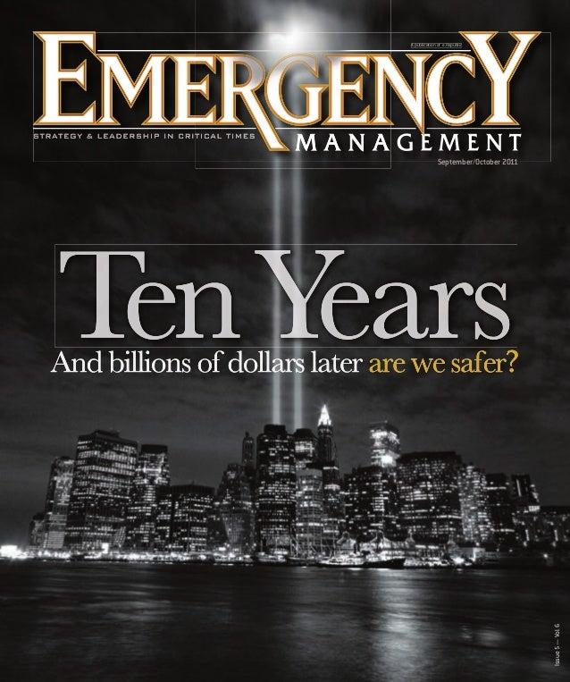 A publication of e.Republic no ep  Issue 5 — Vol. 6  September/October 2011  EM09_cover.indd 1  9/15/11 1:56 PM