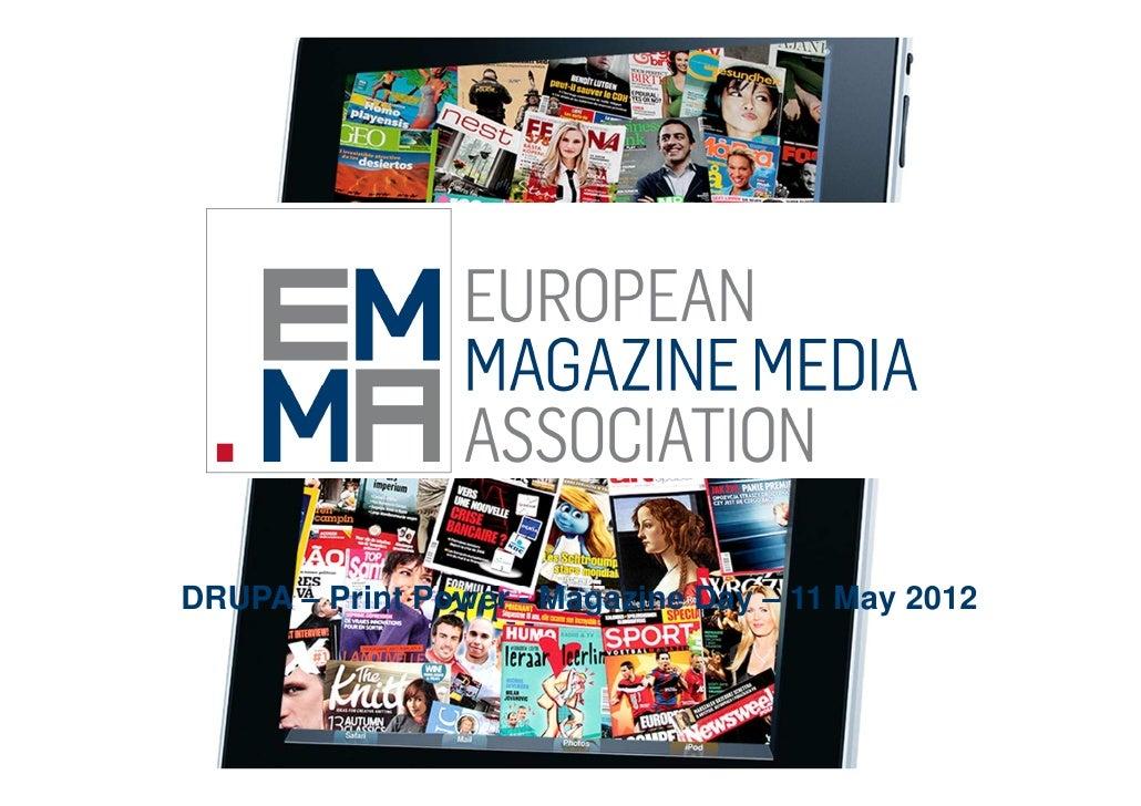 Drupa 2012 - Magazine Day - European Magazine Media Association