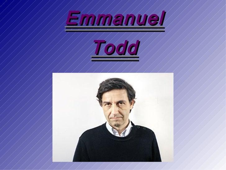 Emmanuel todd