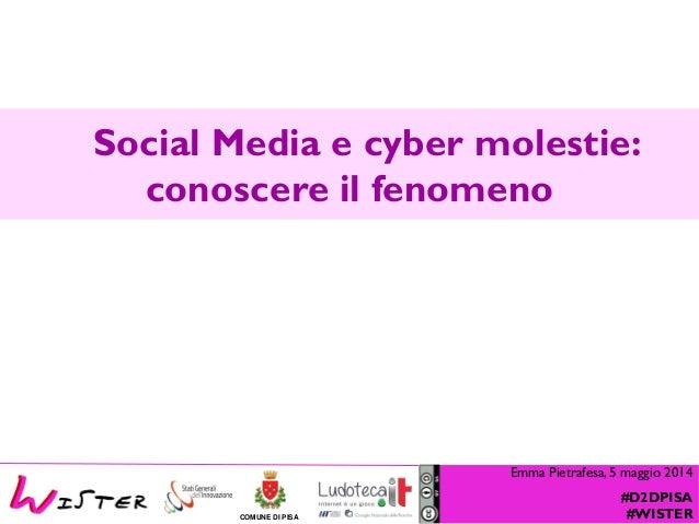 Social Media e cyber molestie: il fenomeno