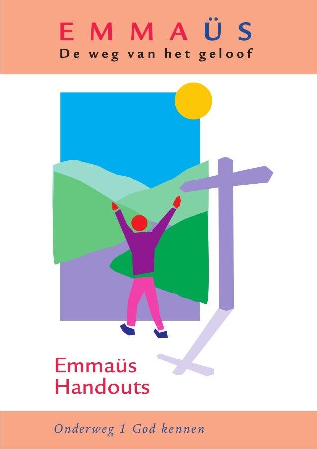 Emmaus handouts-onderweg-1