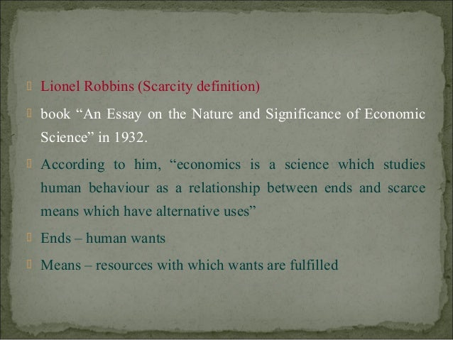 essay microeconomics scarcity In this second guide, we have not only included 20 microeconomics essay topics, but also a sample essay that'll allow you to understand how an argumentative essay.