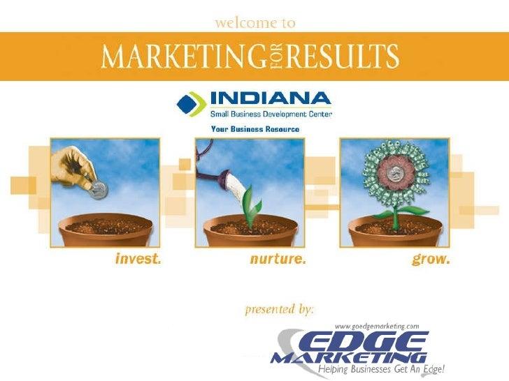 Marketing Strategies ISBDC 09